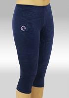 Gymnastikkbukser K754ma Legging glatt velur
