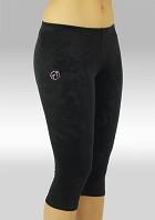 Gymnastikkbukser K754zw Legging glatt velur